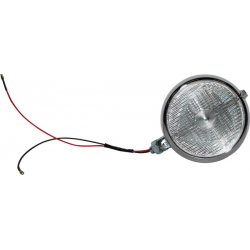 Porsche 356 Fog lamp, Marchal Style, with white bulb (one piece)