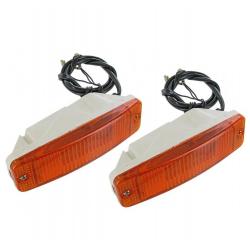 VW Kever Knipperlicht in de bumper 111953055   per paar