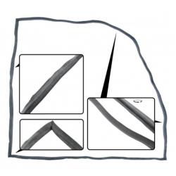 VW Kever Deurrubber rechts (b kwal) 111831722D
