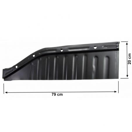 Volkswagen Kever bodemplaat kwart rechts voor 111701060Q - 1