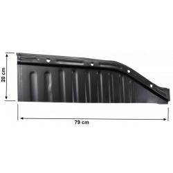 Volkswagen Kever bodemplaat kwart voor links 111701059Q