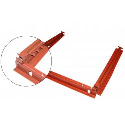 Volkswagen Kever stoelgeleider (3 delig) (per stuk) 113701421A