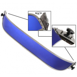 Volkswagen Kever perspex zonnenscherm blauw