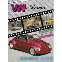 VW SCENE 1992 - 06   **JUNI** NL uitgave