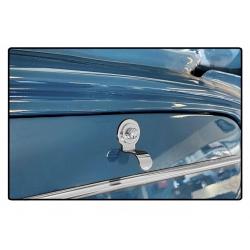 Volkswagen Type 3 Dashboardkastje vinger trekhendel RVS verchroomd - 2