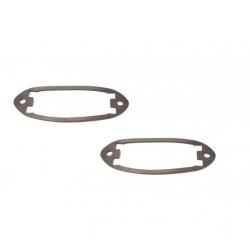 VW Karmann Ghia Kentekenplaat verlichtingslens rubbers 141943131