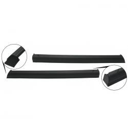VW Karmann Ghia Deurpanelen bovenzijde zwart 143867121