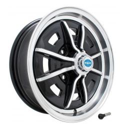 Volkswagen Kever Sprintstar velg aluminium gepolijst hoogglans zwart