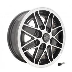 Volkswagen Kever Cosmo velg hoogglans zwart