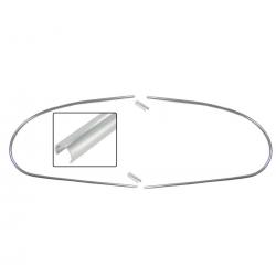 VW Kever Achterruit sierlijst set 8/57-7/62 151853356A 151853355A