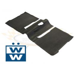 Volkswagen Kever rubber vloermat achter 73-79 113863717J