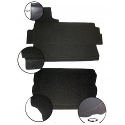 Volkswagen Kever 1303 Koffer tapijt inclusief karton 2 delig (zwart)