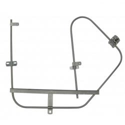 VW Kever 64-68 Ruit mechanisme links 111837501F