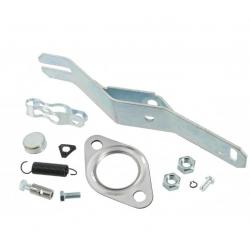 VW Kever Kachelpot bedieningsarm incl montage set links 043298147A