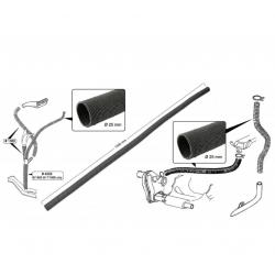 VW Kever Luchtfilter kachel slang karton Ø 25 x 1000mm 211255359