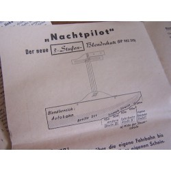 "Antie verblindings scherm "" Nachtpilot "" - 5"
