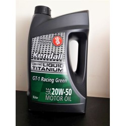 Kendall GT1 Racing green 20W-50  5 liter