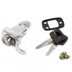 Volkswagen Kever 66-71 Motorklep slot met sleutel 113827503F