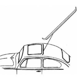 VW Kever schuifdak afdichting achterzijde 117877209A