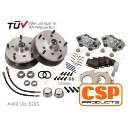 VW 181 -71 schijfremset solid CSP 5x205 4991815205