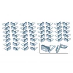 Volkswagen Kever Bekledingspaneel/deurpaneel clips 50 stuks N0143893