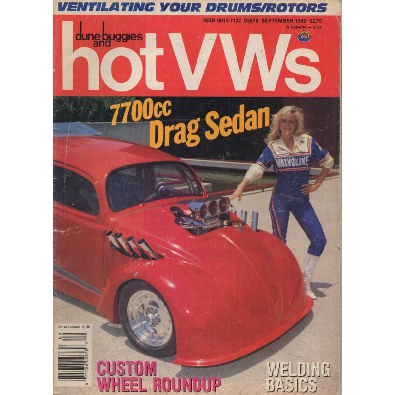 Hot VW's Magazine 1989- September - 1