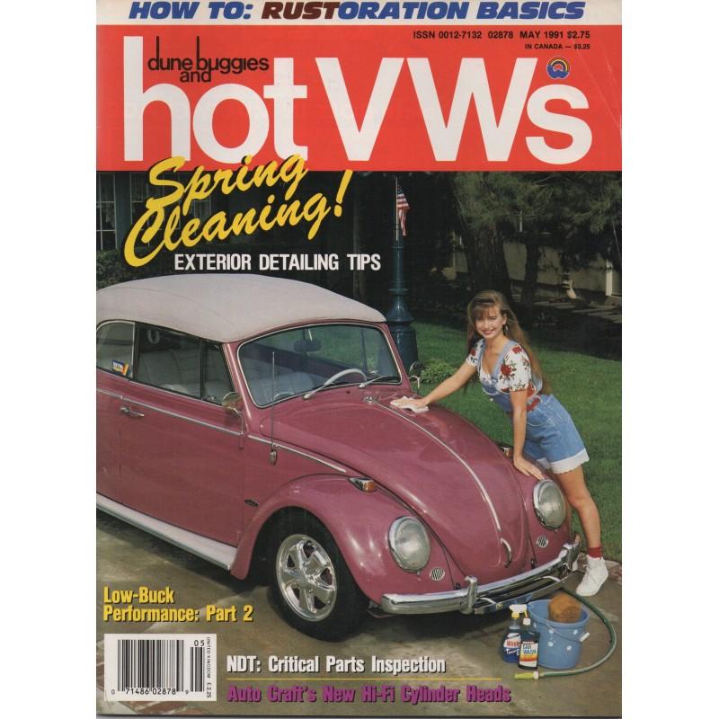 Hot VW's Magazine 1991 - mei - 1