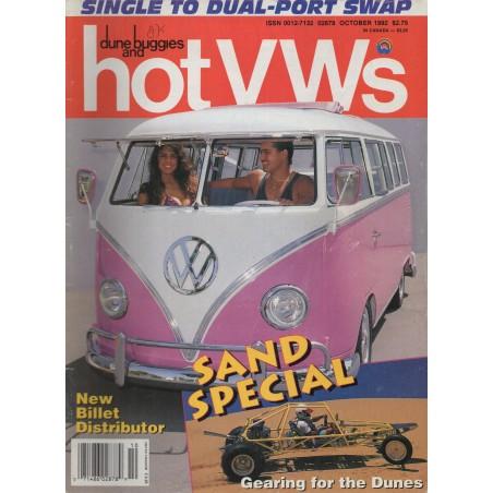 Hot VW's Magazine 1992 - oktober - 1