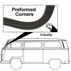 Volkswagen Panoramabus Voorruitrubber zonder lijstgroef  211845121