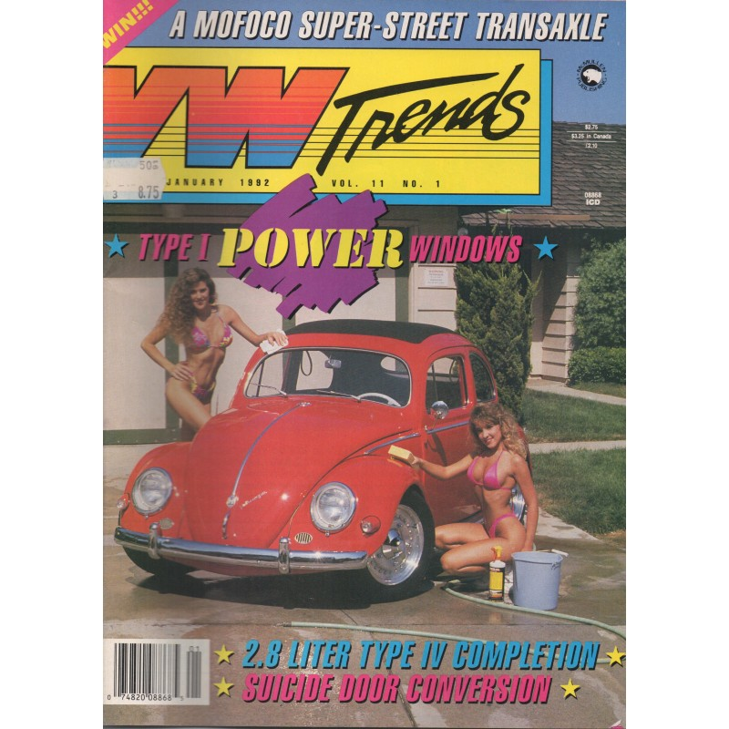 VW Trends 1992 - Januari - 1
