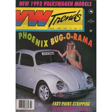 VW Trends 1992 - Maart - 1