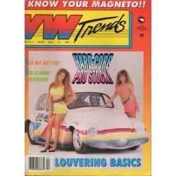VW TRENDS 1992 - APRIL