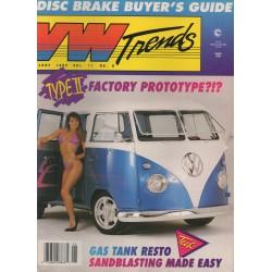 VW TRENDS 1992 - JUNI