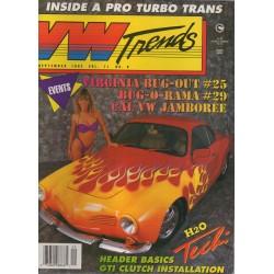 VW TRENDS 1992 - SEPTEMBER