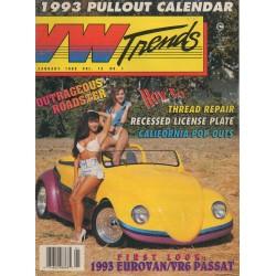 VW TRENDS 1993 - JANUARI