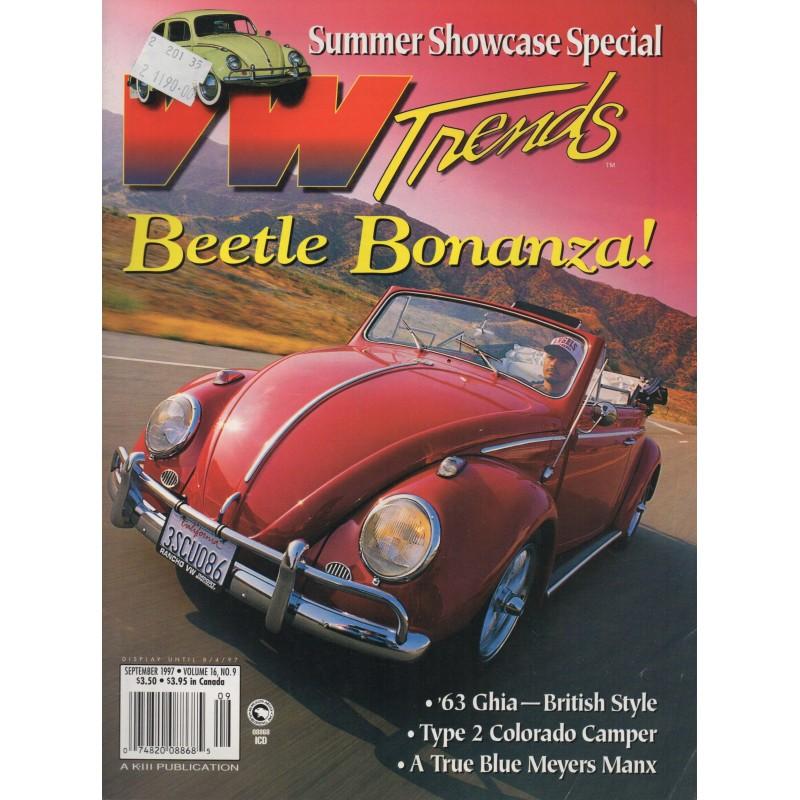 VW TRENDS 1997 - SEPTEMBER - 1