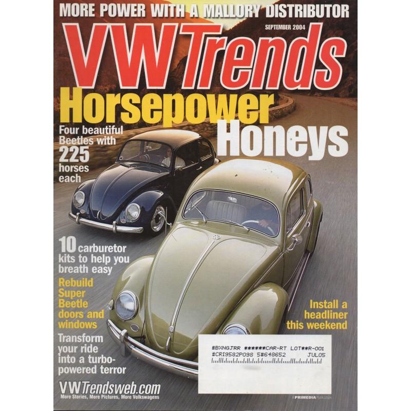 VW TRENDS 2004 - SEPTEMBER - 1
