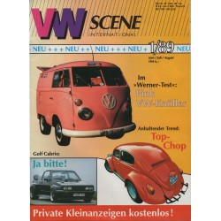 VW SCENE 1989 -  01    **juni_juli_augustus**