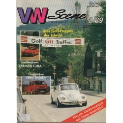 VW SCENE 1989 - 02    **SEPT_OKT_NOV**