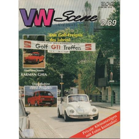 VW SCENE 1989 - 02    **SEPT_OKT_NOV** - 1
