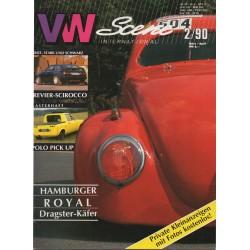 VW SCENE 1990 - 02    **MAART_APRIL**