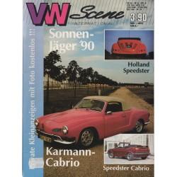 VW SCENE 1990 - 03    **MEI_JUNI**