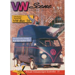 VW SCENE 1991 - 01   **JANUARI**