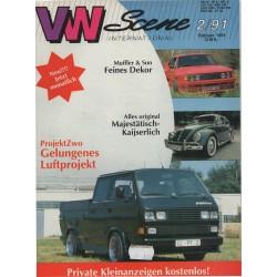 VW SCENE 1991 - 02   **februarI**