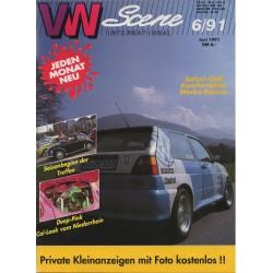 VW SCENE 1991 - 06   **JUNI**