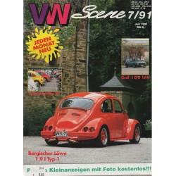 VW SCENE 1991 - 07   **JULI**