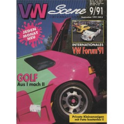 VW SCENE 1991 - 09   **SEPTEMBER**