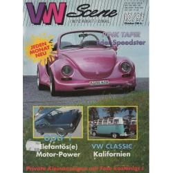 VW SCENE 1991 - 10   **OKTOBER**
