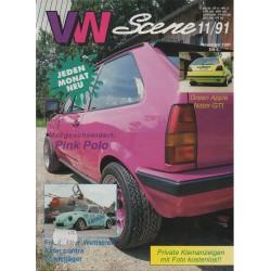 VW SCENE 1991 - 11   **NOVEMBER**