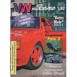 VW SCENE 1992 - 01   **JANUARI**